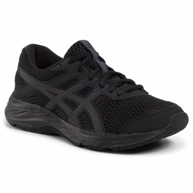 Topánky ASICS - Gel-Contend 6 1012A570 Black/Black 002