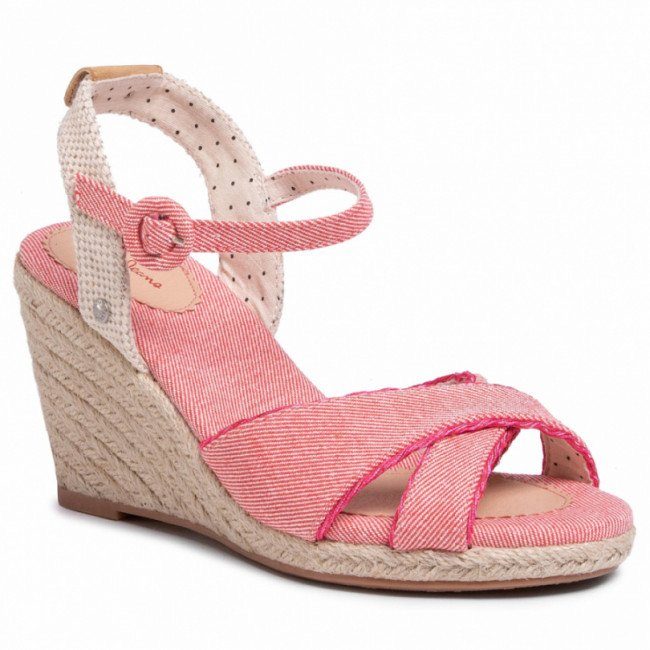 Espadrilky PEPE JEANS - Shark Sweet PLS90453  Blush 341