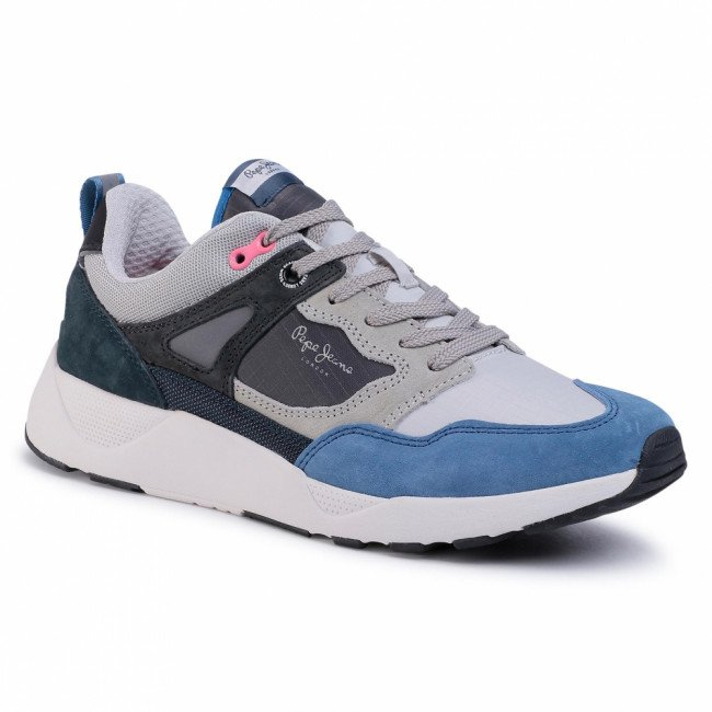 Sneakersy PEPE JEANS - Orbital 2.1 PMS30598 French Blue 541