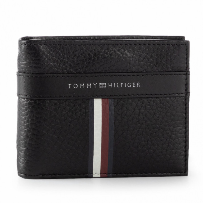 Malá Pánska Peňaženka TOMMY HILFIGER - Corporate L Mini Cc Money Clip AM0AM04805 002
