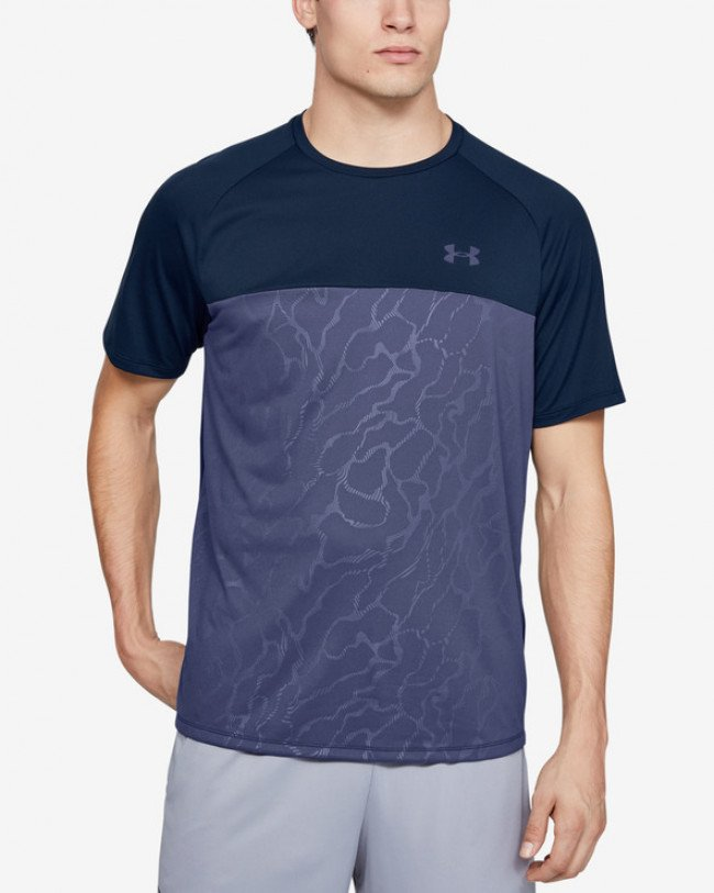 Under Armour Tech™ 2.0 Emboss Tričko Modrá