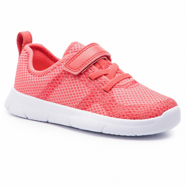 Sneakersy CLARKS - Ath Flux T 261412726 Coral
