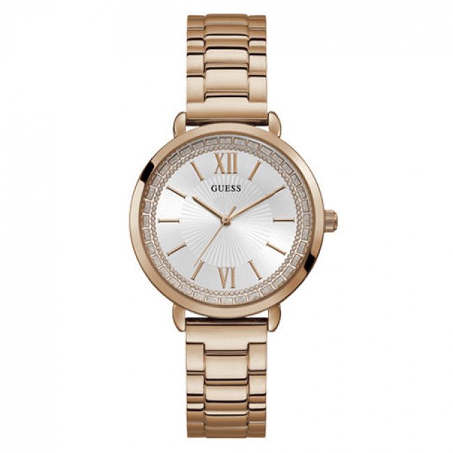 Hodinky GUESS - Posh W1231L3 ROSE GOLD/ROSE GOLD