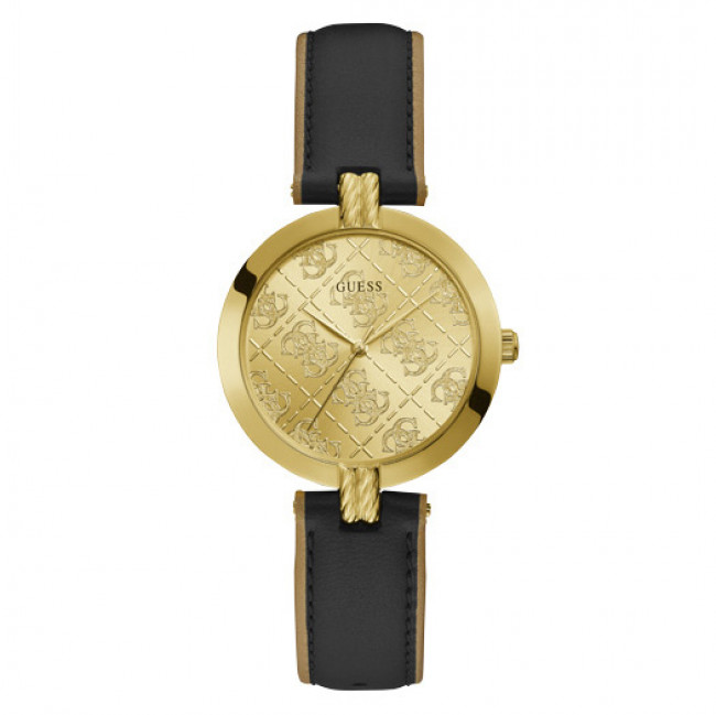 Hodinky GUESS - G Luxe GW0027L1 BLACK/GOLD