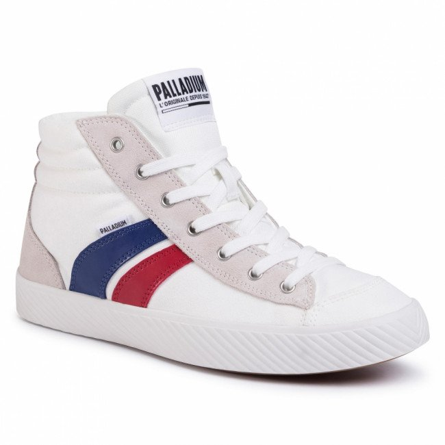 Sneakersy PALLADIUM - Pallaphoenix Cuff Rto 76191-195-M Star White/French