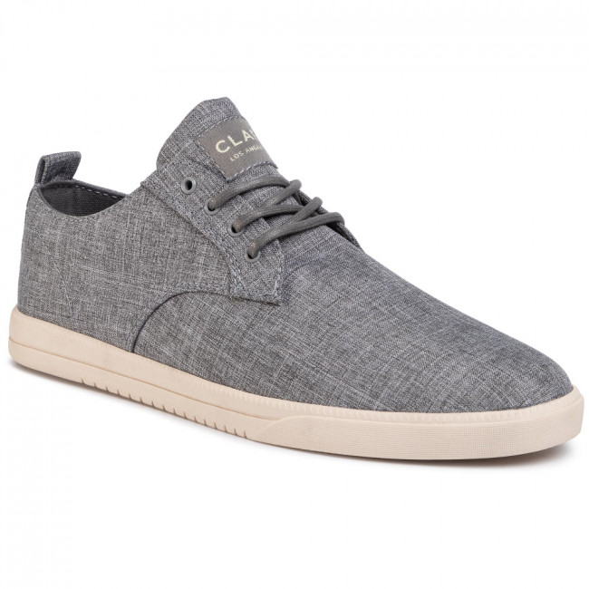 Tenisky CLAE - Ellington Textile CL20AET05 Pavement Recycled Chambray