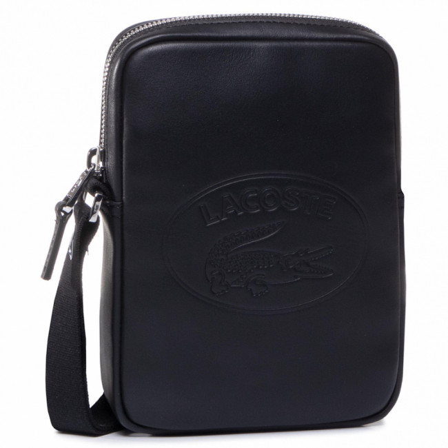 Ľadvinka LACOSTE - Slim Vertical Camera Bag NH2928IC  Black