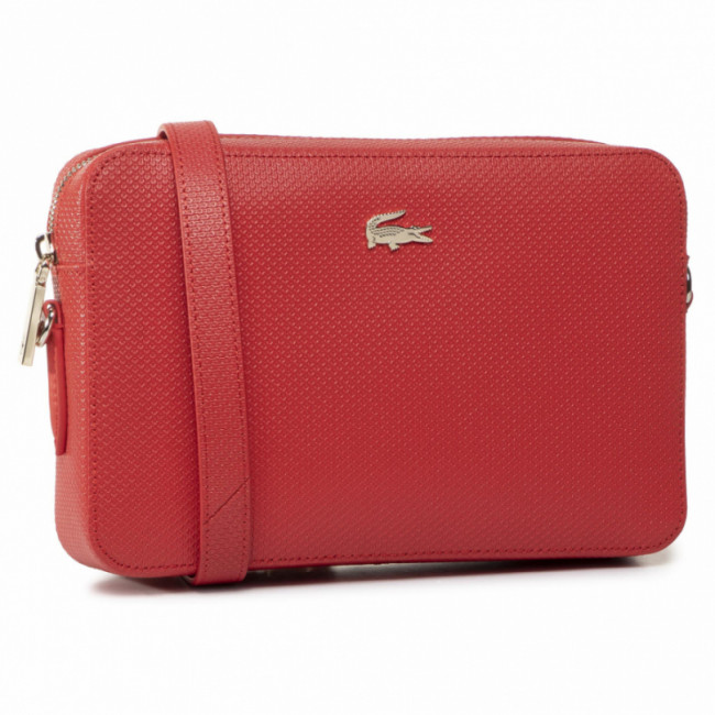 Kabelka LACOSTE - Square Crossover Bag NF2731CE Bittersweet D50