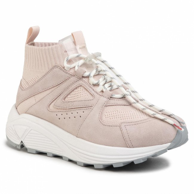 Sneakersy HUGO - Horizon 50428269 10226109 01 Light/Pastel Pink 680