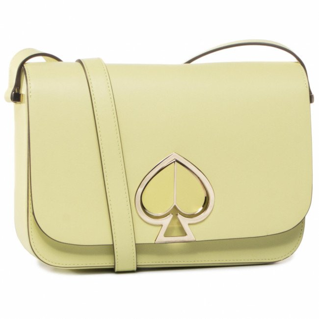 Kabelka KATE SPADE - Nicola Twist Medium Shoulder Bag PXRUA167 Lemon Sorbe 735U