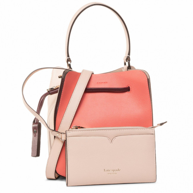 Kabelka KATE SPADE - Busy Small Bucket Bag PXRUB099 Lychee multi 822