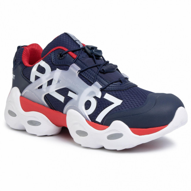 Sneakersy POLO RALPH LAUREN - Rlx Tech-Sk-Ath 809784405001  Nvy/Red/Wt