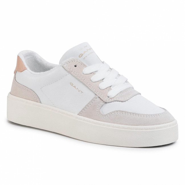 Sneakersy GANT - Lagalilly 20531507  Br. Wht/Cream G282