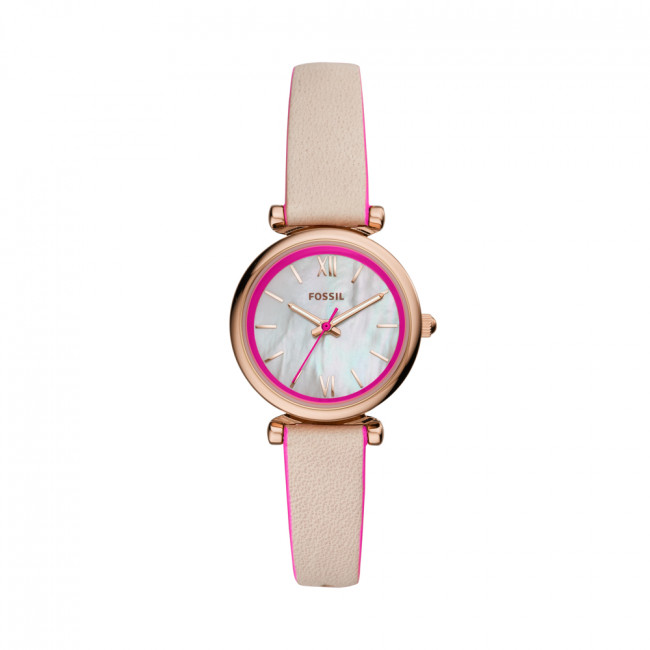 Hodinky FOSSIL - Carlie Mini ES4833 Nude/Gold
