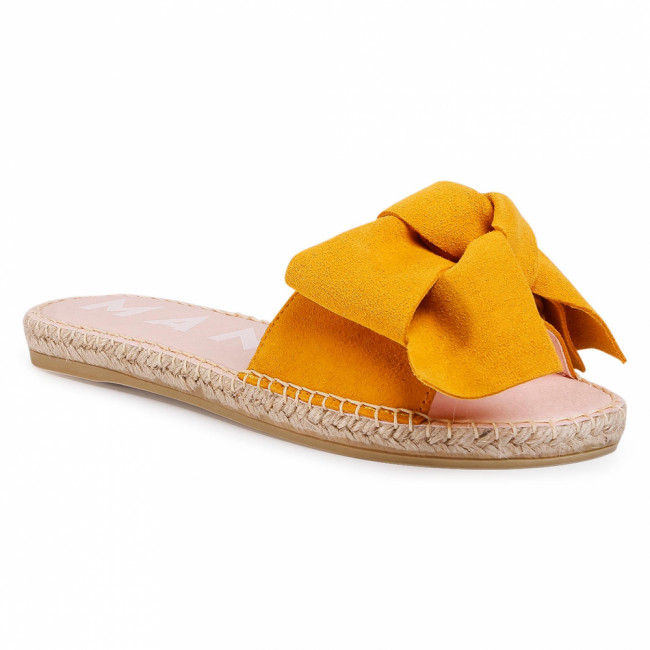 Espadrilky MANEBI - Sandals With Bow M 2.4 J0 Banana