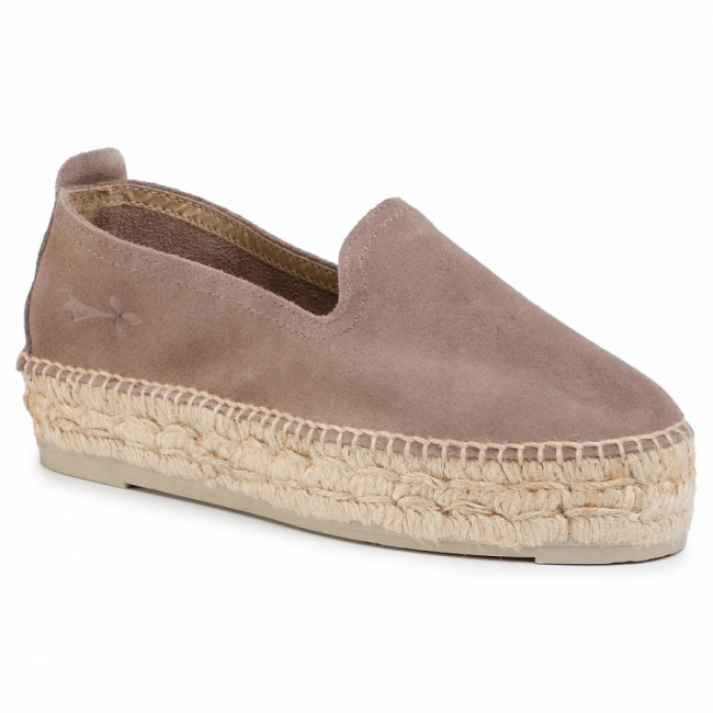 Espadrilky MANEBI - Slippers D K 1.9 D0 Coco Brown