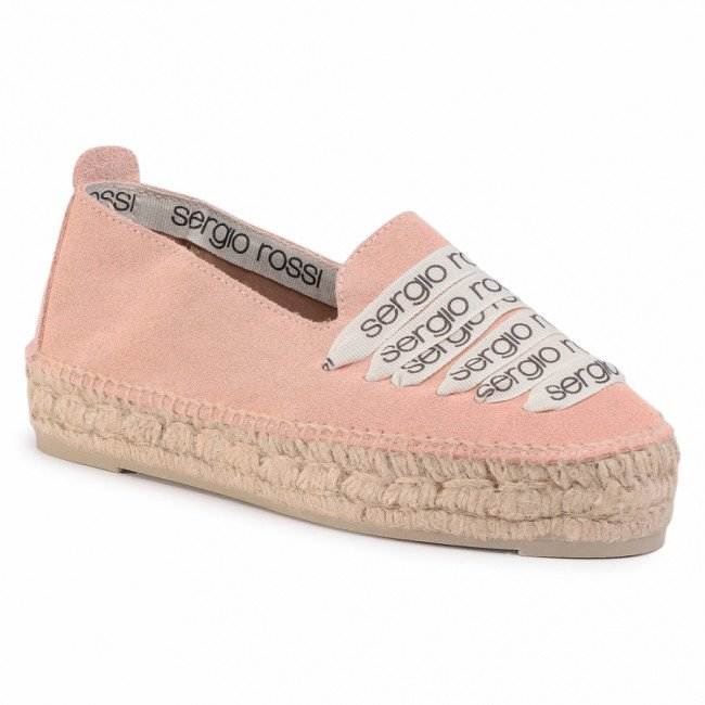 Espadrilky MANEBI - A84590-MFN975-5903  Light Rose