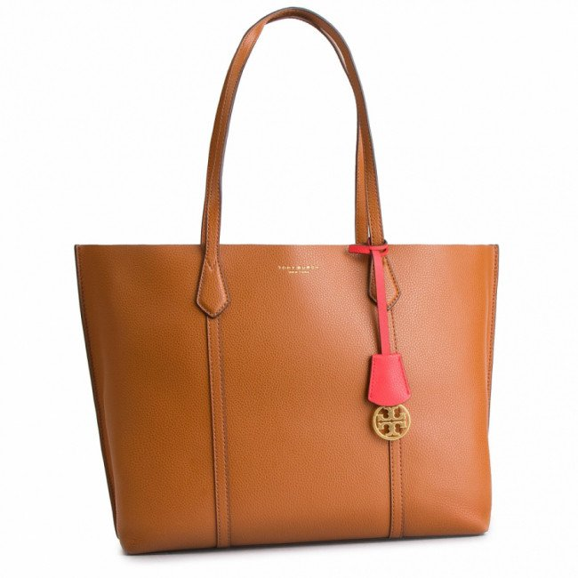 Kabelka TORY BURCH - Perry Triple-Compartment Tote 53245 Light Umber 905