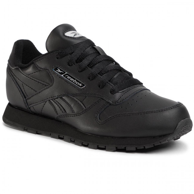 Topánky Reebok - Classic Leather EH1962 Black/Black/Silvmt
