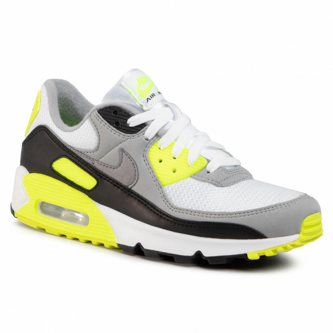 Topánky NIKE - Air Max 90 CD0881 103 White/Particle Grey/Volt Black