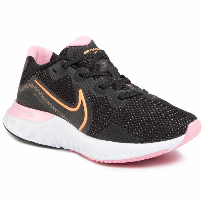 Topánky NIKE - Renew Run CK6360 001  Black/Orange Pulse/White/Pink