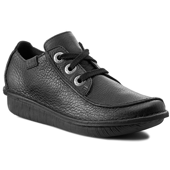 Poltopánky CLARKS - Funny Dream 203066394 Black Leather