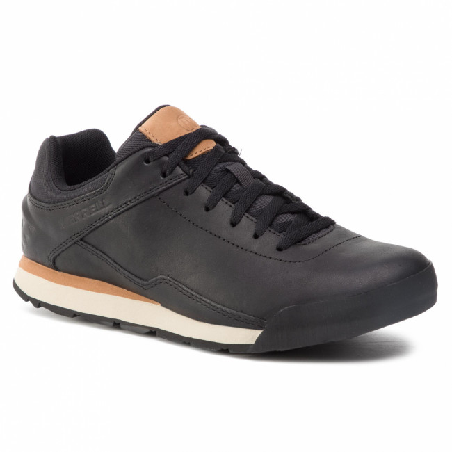 Poltopánky MERRELL - Burnt Rocked Lth J97279  Black