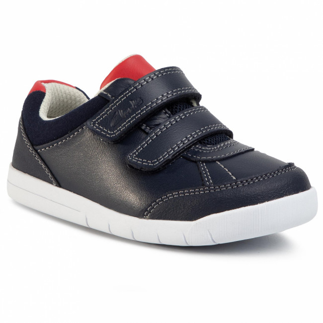 Sneakersy CLARKS - Emery Sky T 261455427  Navy Leather