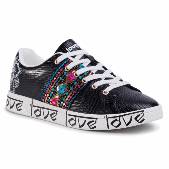 Sneakersy DESIGUAL - Cosmic Exotic Indian 20SSKP26 2000