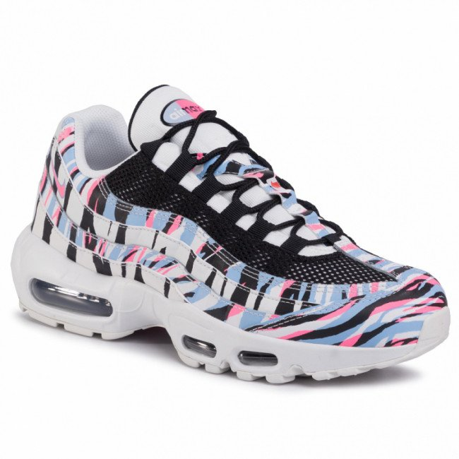 Topánky NIKE - Air Max 95 Ctry CW2359 100 Summit White/Black/Royal Tint