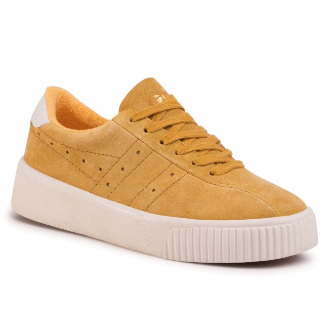 Sneakersy GOLA - Super Court Suede CLB016 Sun/Off White