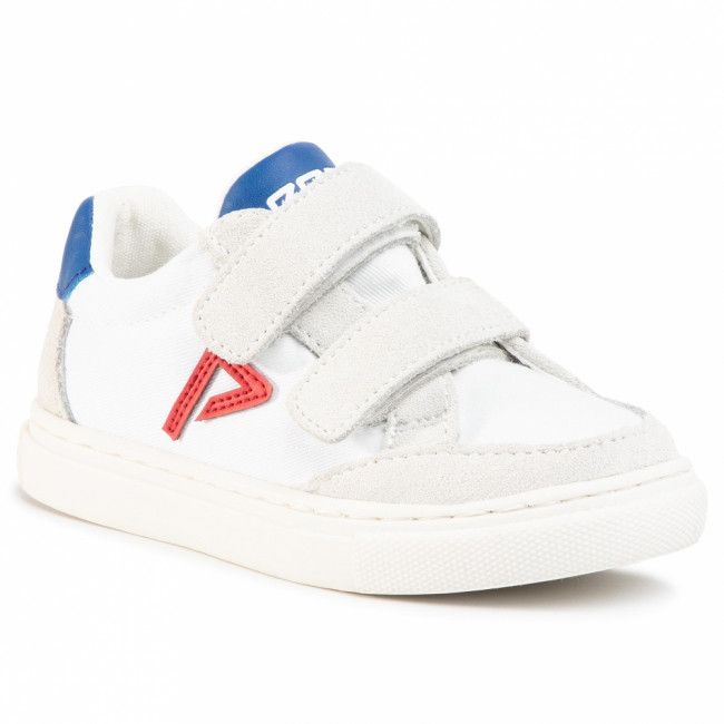 Sneakersy PEPE JEANS - Adams Archive Kids PBS30436 White 800