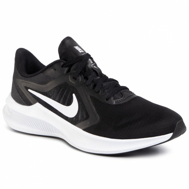 Topánky NIKE - Downshifter 10 CI9981 004 Black/White/Anthracite