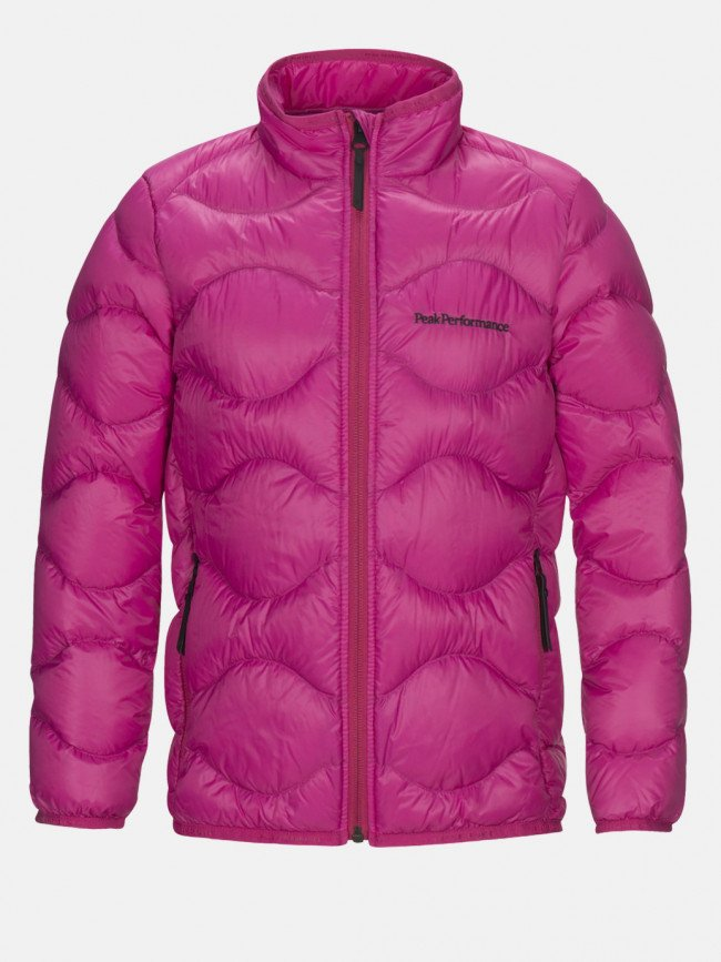 Bunda Peak Performance Jr Heliu J Active Ski Jacket - Ružová