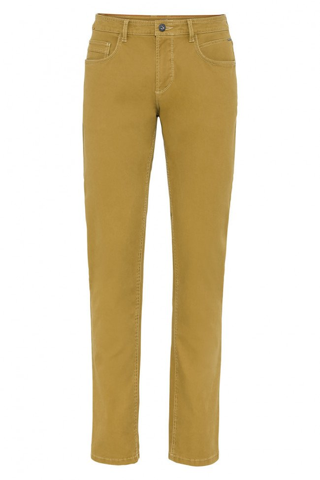 Džínsy Camel Active 5-Pocket Houston - Žltá