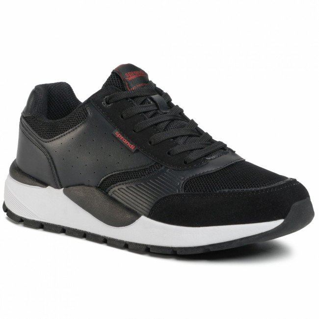 Sneakersy SPRANDI - MP07-91235-01 Black