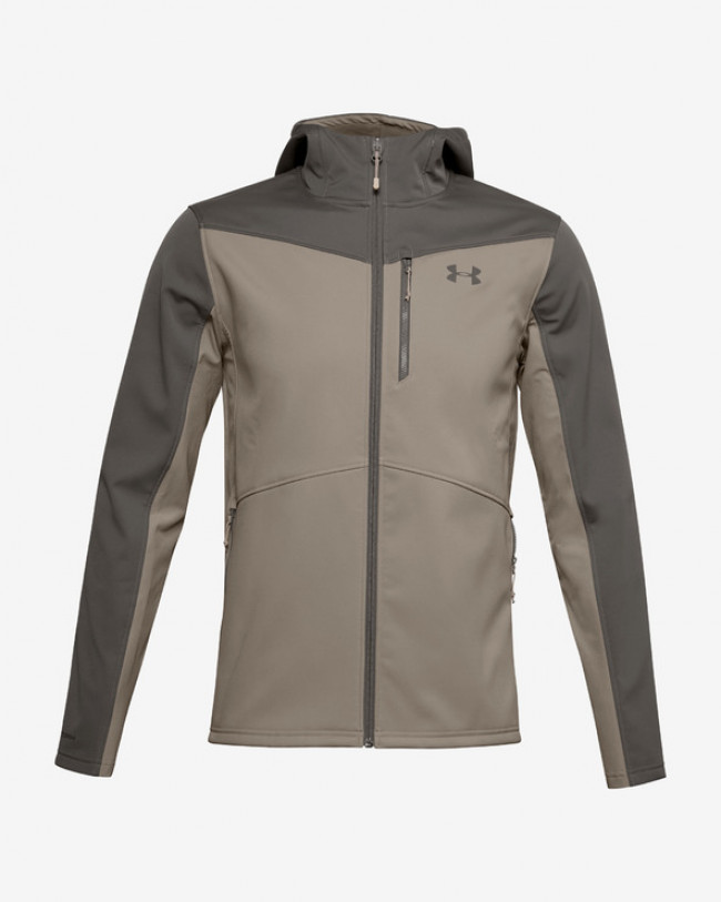 Under Armour CGI Shield Bunda Hnedá Šedá