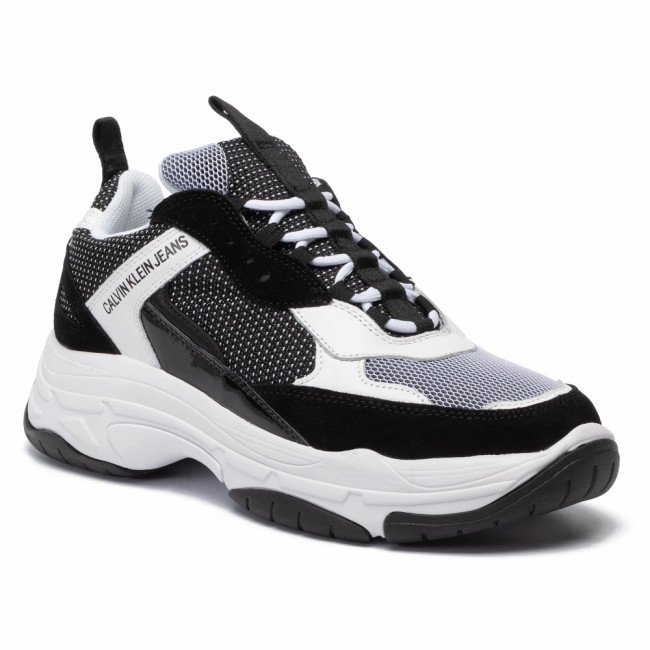 Sneakersy CALVIN KLEIN JEANS - Marvin B4S0133 White/Black