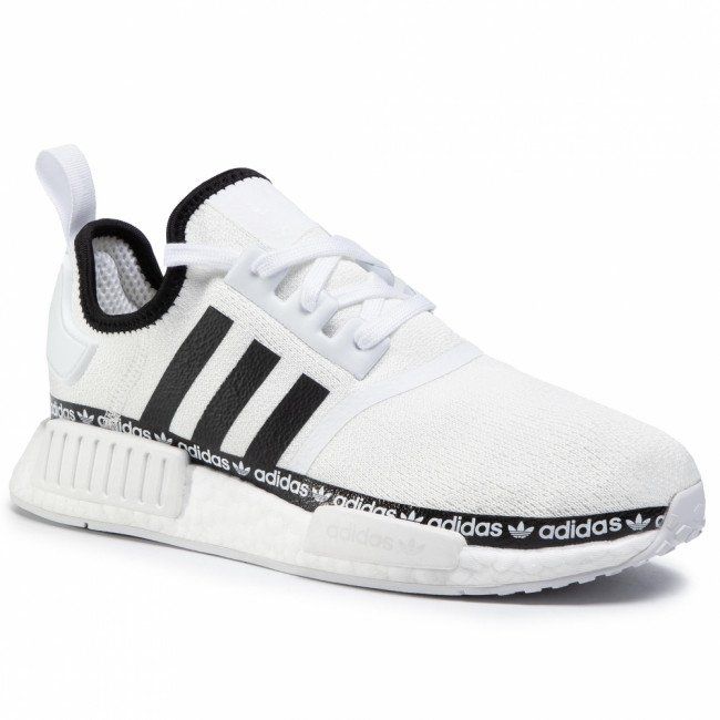 Topánky adidas - Nmd_R1 FV8727 Cloud White/Core Black/Cloud White