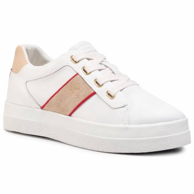 Sneakersy GANT - Avona 21531831 Bright White G290
