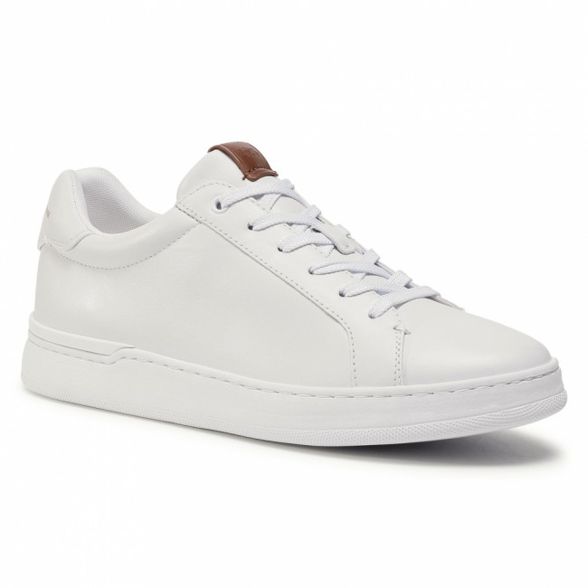 Sneakersy COACH - Lowline Luxe Low Top G5041 10011275 White WHT