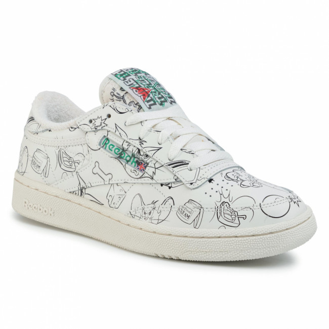 Topánky Reebok - Club C 85 Mu FX4011  Chalk/Papwht/Excred