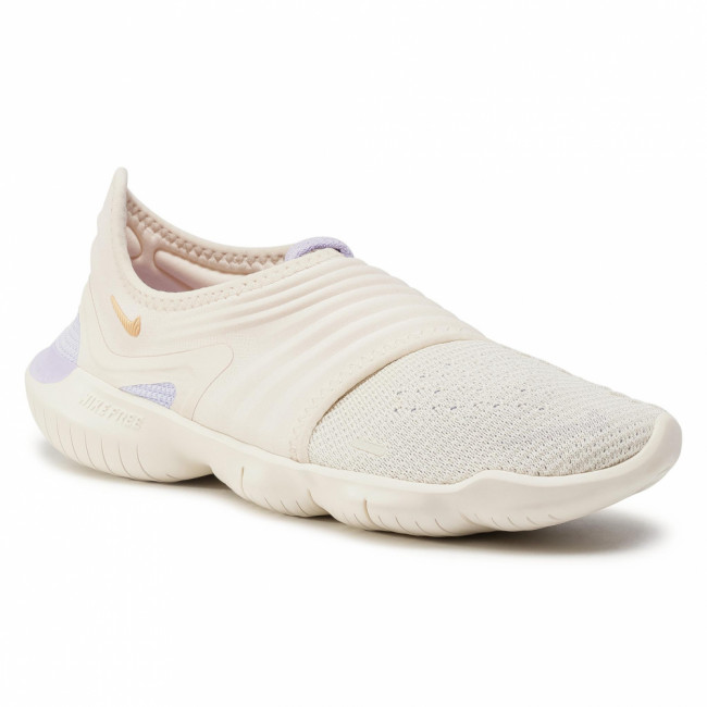 Topánky NIKE - Free Rn Flyknit 3.0 AQ5708 201 Light Cream/Celestial Gold