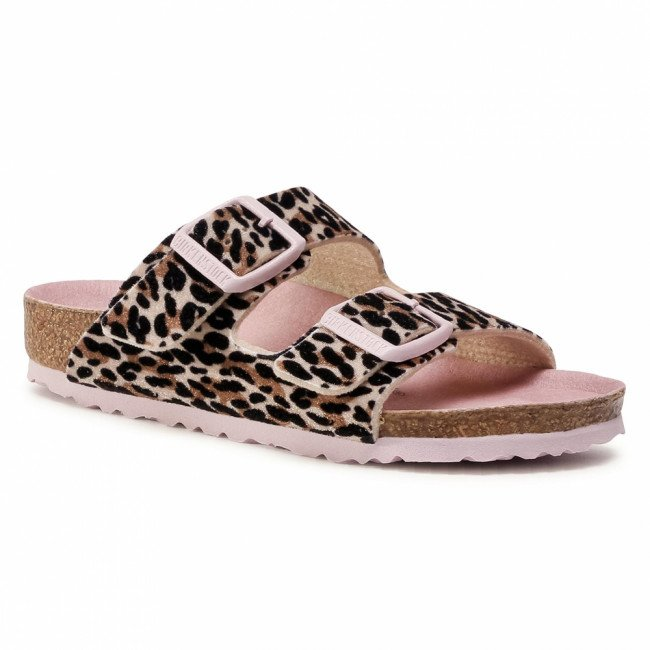 Šľapky BIRKENSTOCK - Arizona Kids 1017401 Leo Lilly Brown Rose
