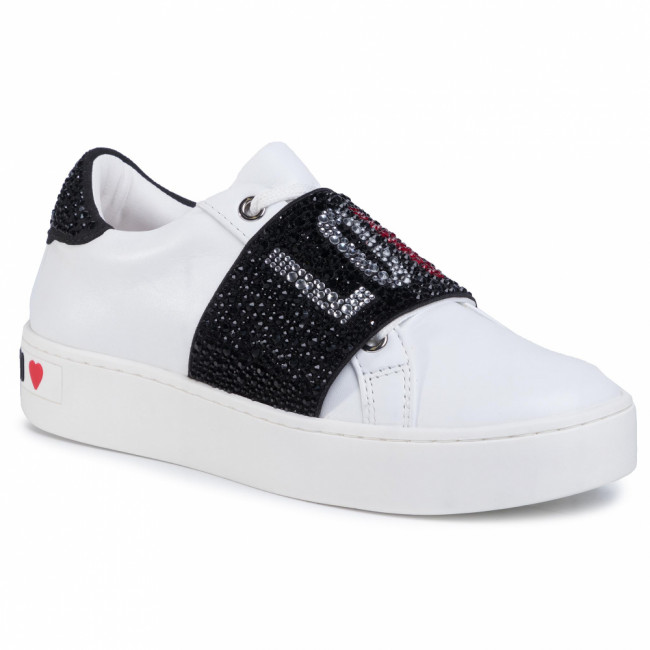Sneakersy LOVE MOSCHINO - JA15103G1BIA0100 Bianco