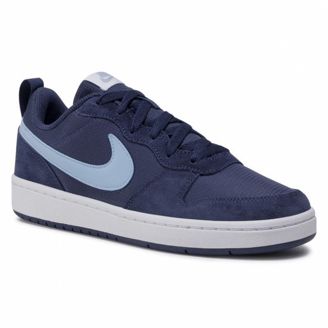 Topánky NIKE - Court Borough Low 2 Pe (Gs) CD6144 400 Midnight Navy/Lt Armory Blue