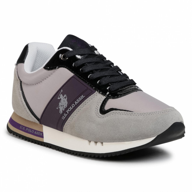 Sneakersy U.S. POLO ASSN. - Aida CORA4079W0/NS1 Grey/Vio