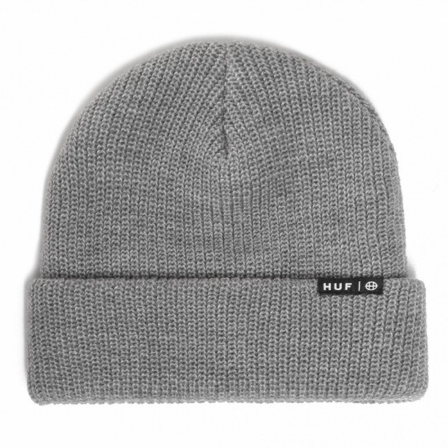 Čiapka HUF - Essentials Usual Beanie BN00060 Grey Heather