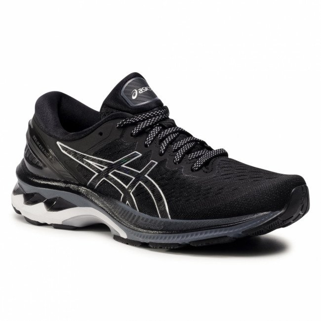 Topánky ASICS - Gel-Kayano 27 1012A649 Black/Pure Silver 001