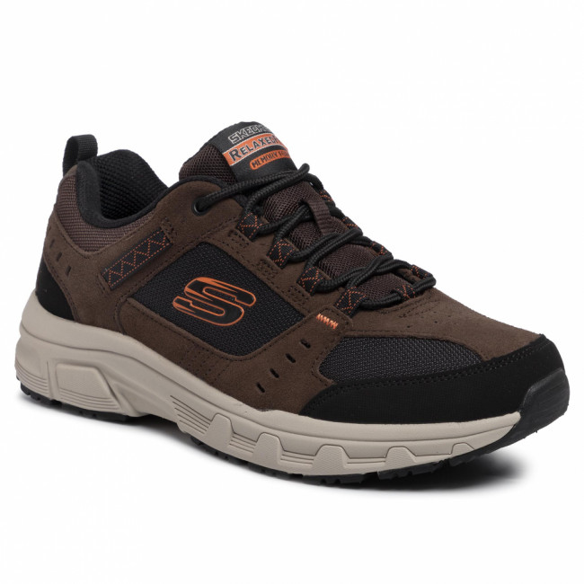 Trekingová obuv SKECHERS - Oak Canyon 51893/CHBK Chocolate/Black